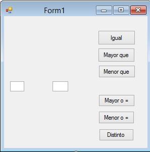 formulario comparación