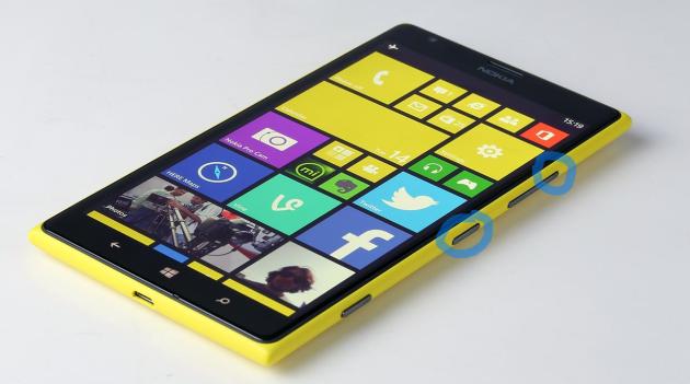 capturar pantall windows phone 8.1
