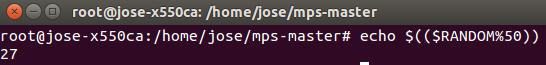 generar numero aleatorio linux
