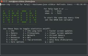 nmon monitor servidor