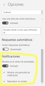 notificacion correo en windows