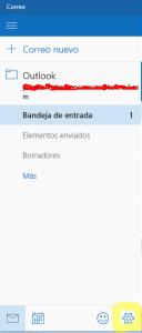 notificacion de correo windows