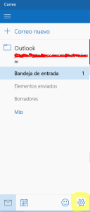 notificacion de correo windows